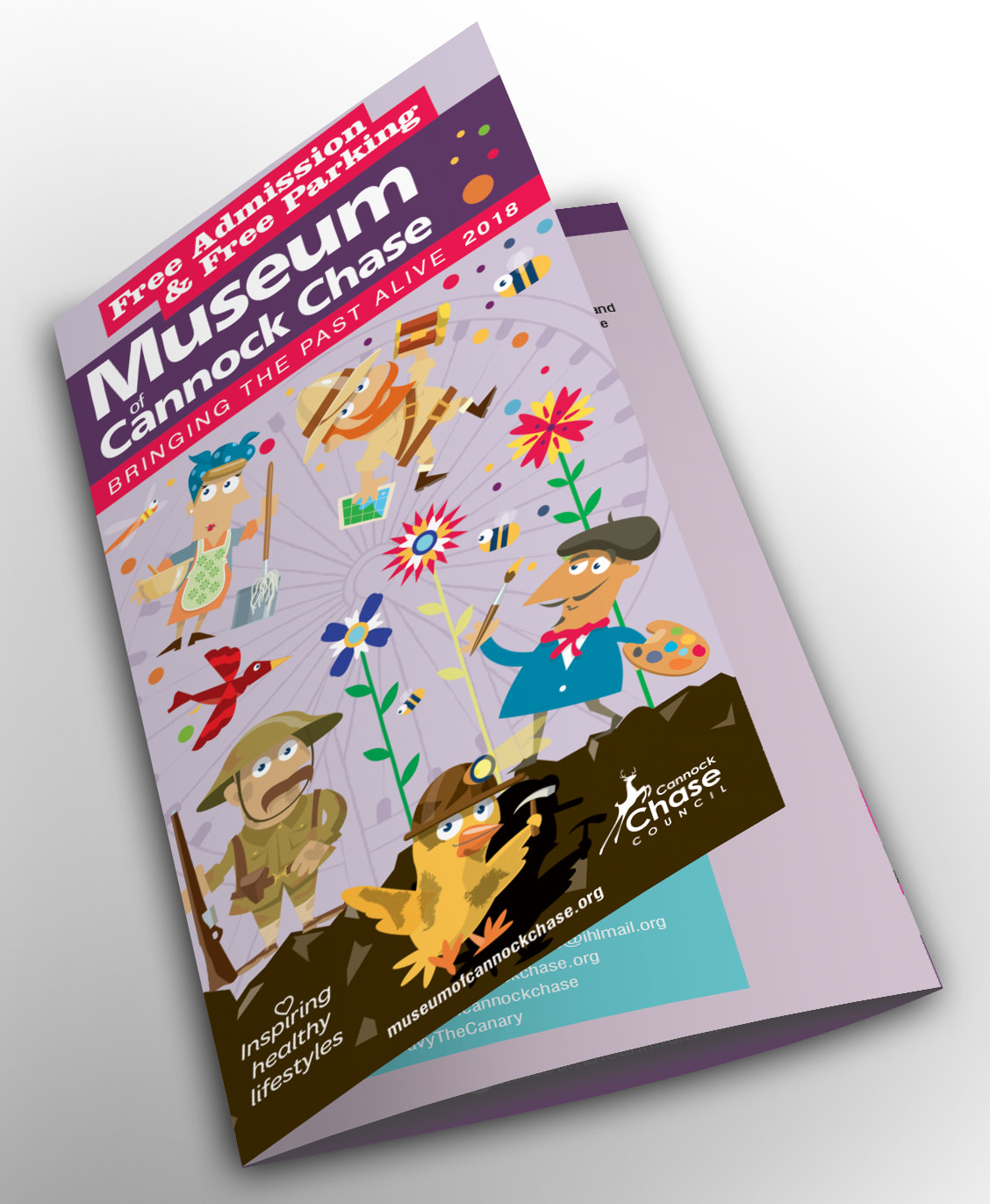 Inspiring Healthy Liftstyle - Design & Print