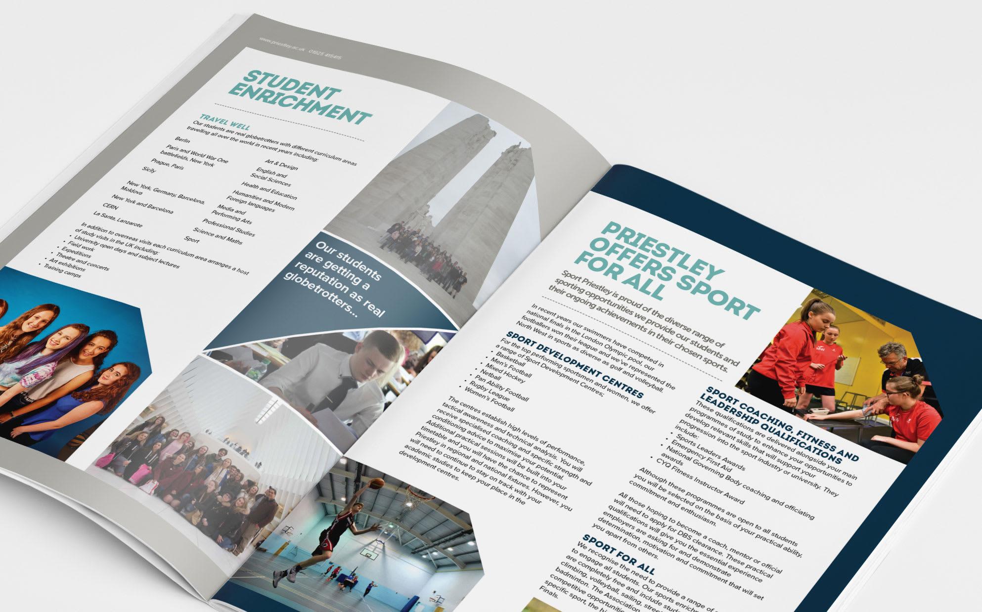 Priestley College - Design & Print