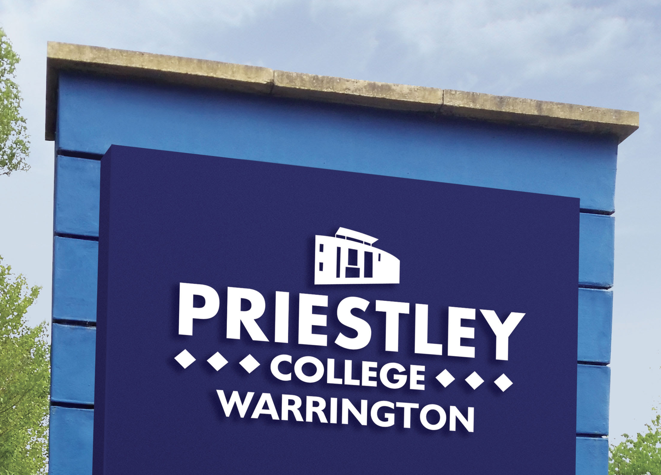 Priestley College - Signage