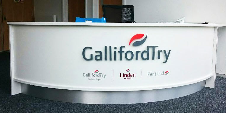 Galliford Try Internal Signage