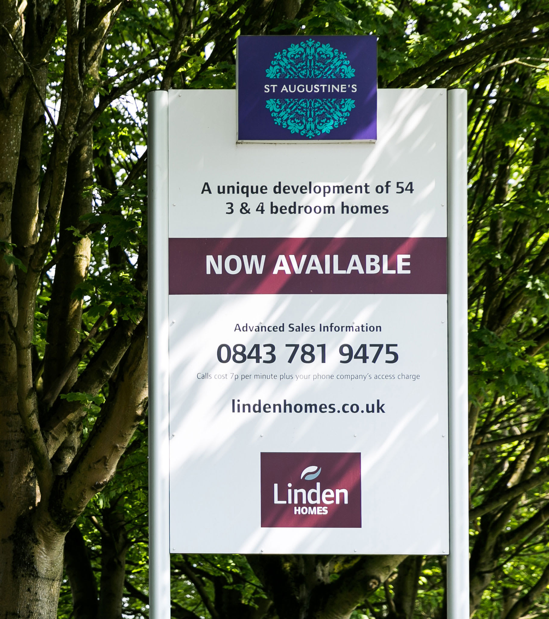 Galliford Try Outdoor Signage