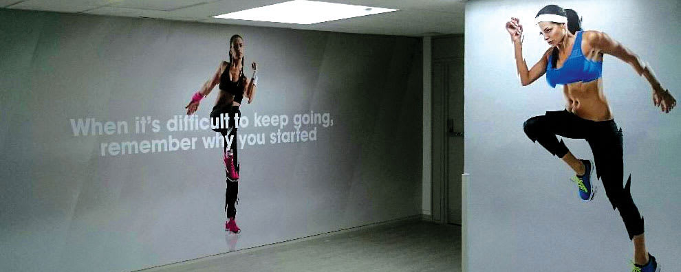 Inspiring Healthy Lifestyles - Signage