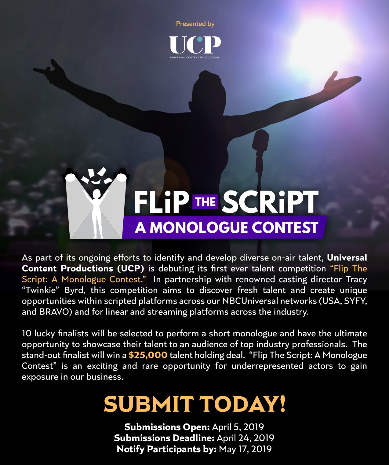 Flip The Script Flyer