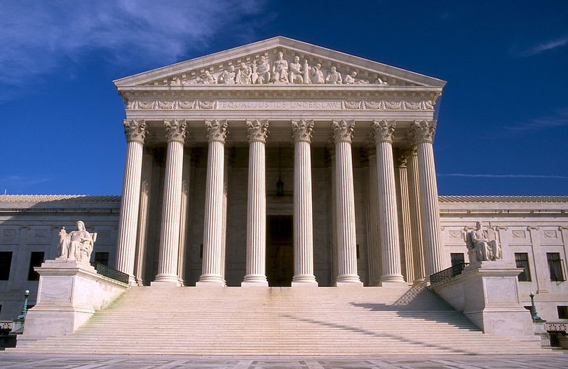 Picture of the Supreme Court building