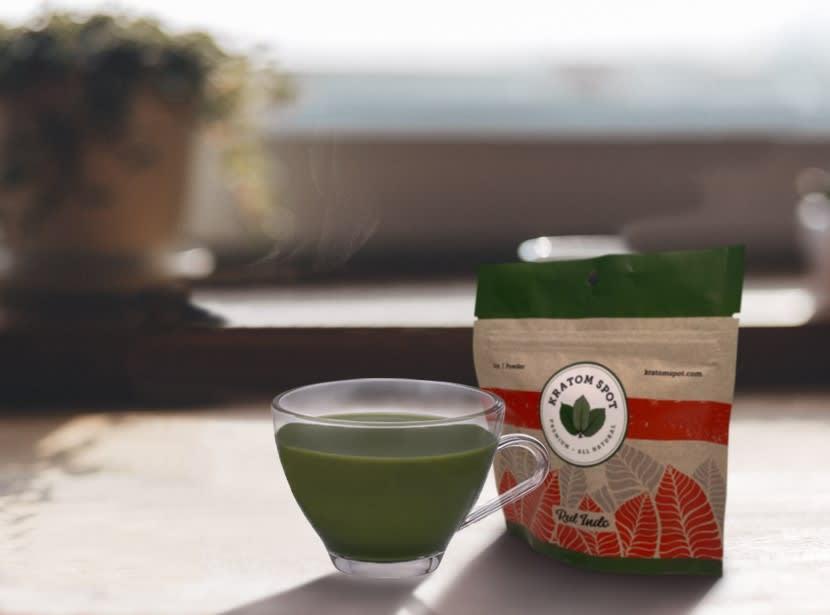 Red Vein Kratom Tea