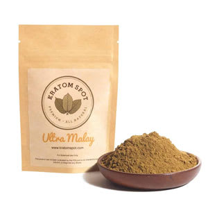 Bag of Kratom Spot Ultra Malay kratom extract for sale