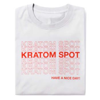 Kratom Spot Shirt, Front Folded