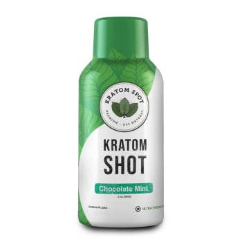 Chocolate Mint Kratom Shot, Ultra Strength
