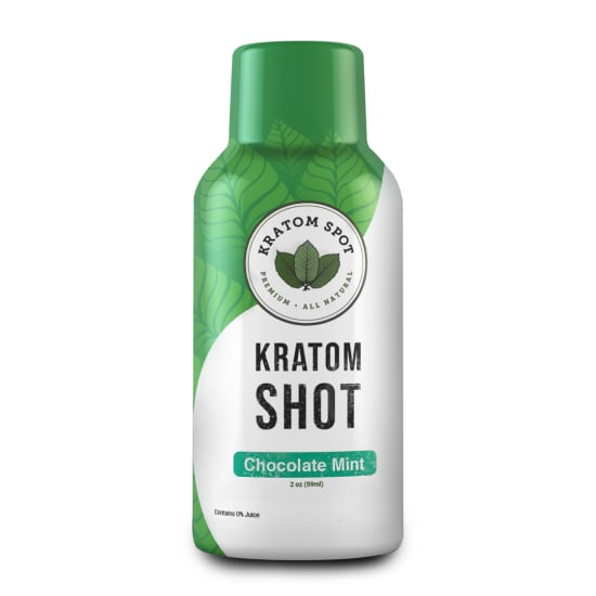 Chocolate Mint Kratom Shot, Standard Strength