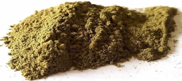Mounds of Kratom Powder