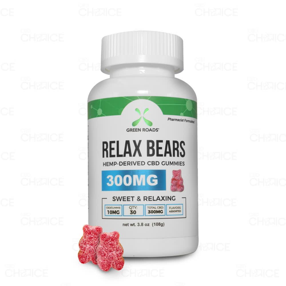 Green Roads Gummy CBD Relax Bears