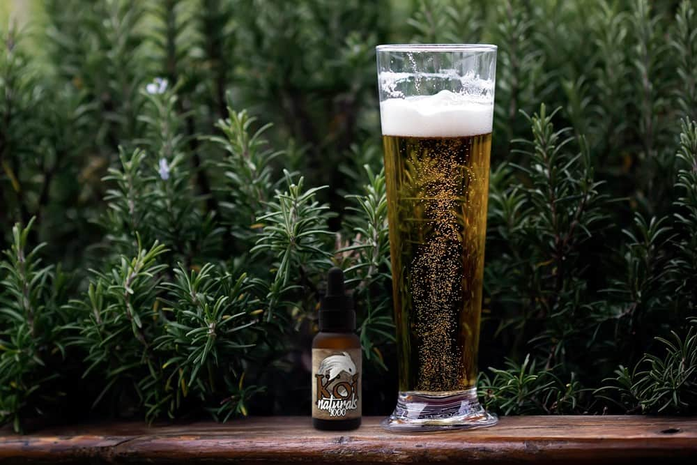 Crack open a CBD beer
