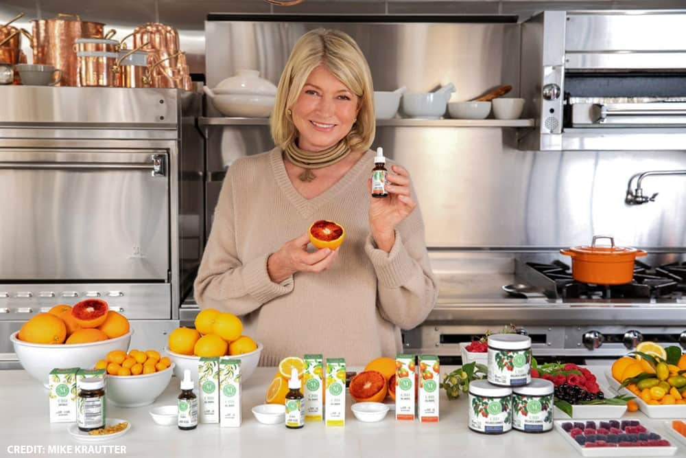 Martha Stewart CBD products