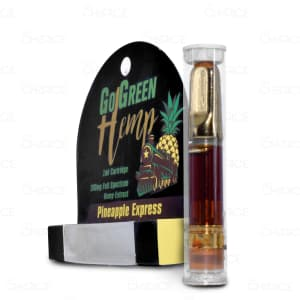 GoGreen Hemp, Pineapple Express Vape Cart
