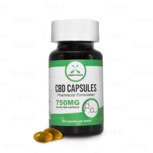 Green Roads CBD Capsules 750mg
