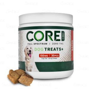 Core CBD Bacon Dog Treats