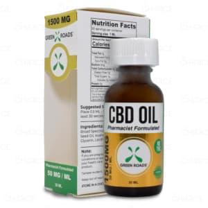 CBDistillery THC Free Oil, 1500mg