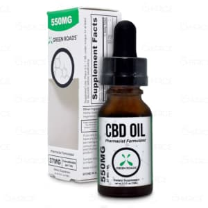 Green Roads THC Free Oil. 550mg
