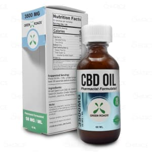 Green Roads CBD Oil 60ml tincture