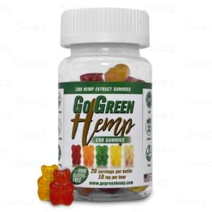 GoGreen Hemp CBD Gummy Bears
