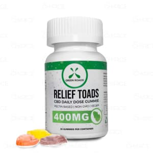Green Roads Relief Toads, 400mg