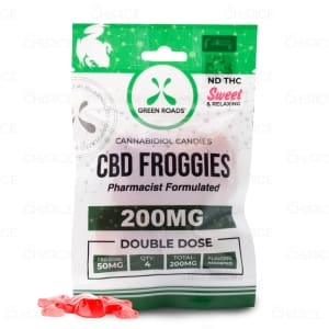 Green Roads CBD Froggies, 200mg