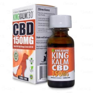 King Kalm 150mg Pet Tincture