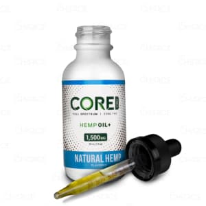 Core CBD Natural Oil Tincture, 1500mg