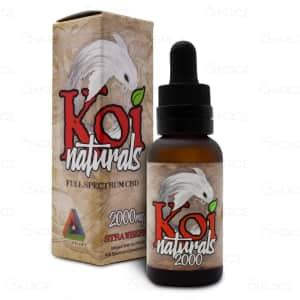 Koi CBD Strawberry Oil Tincture, 2000mg