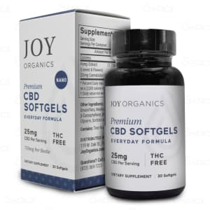 Joy Everyday CBD Capsules, 750mg