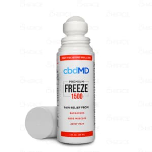 cbdMD Freeze roll-on, 1500mg