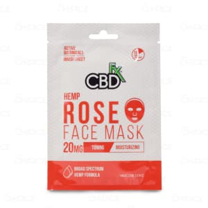 CBDfx Rose Face Mask