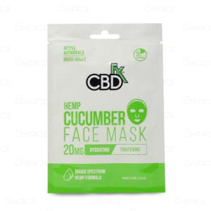 CBDfx Cucumber Face Mask
