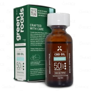 Green Roads Mint Breeze Drops 1500mg tincture