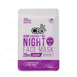 CBDFx Face Mask, Hemp Lavender