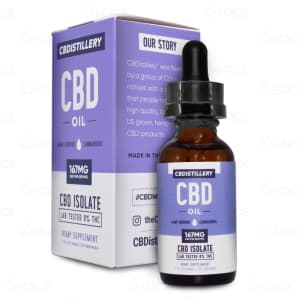 CBDistillery CBDrop Isolate Tincture, 5000mg