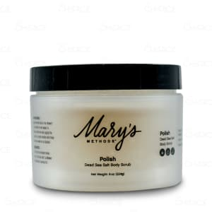 Mary's Methods Polish Dead Sea Salt Body Scrub