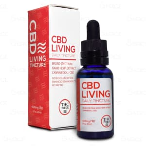 CBD Living Broad Spectrum Tincture, 4500mg