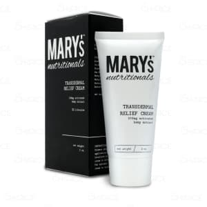 Mary's Nutritionals Transdermal Relief Cream