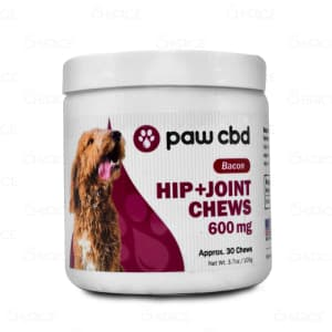 Paw CBD Hip and Joint Soft Chews, 600mg