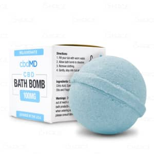 cbdMD Rejuvenate Bath Bomb