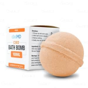 cbdMD Rise Bath Bomb
