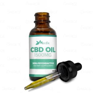 Medix CBD Oil, 1500mg