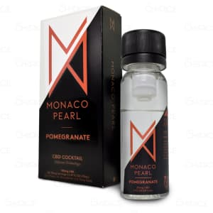 Monaco Pearl Pomegranate CBD Cocktail, unboxed