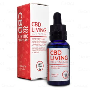 CBD Living Broad Spectrum Tincture, 1500mg