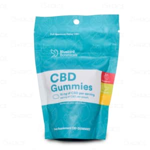 Bluebird Botanicals CBD Gummies 30 count