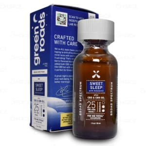 Green Roads Sweet Sleep CBD CBN Tincture 25mg