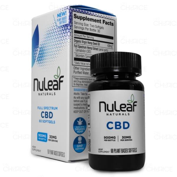 NuLeaf Naturals Softgels, 900mg