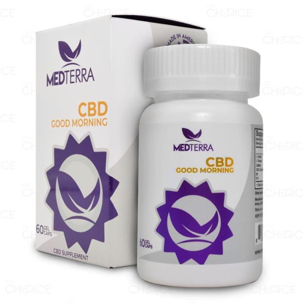 Medterra Good Morning CBD Capsules 25mg, bottle