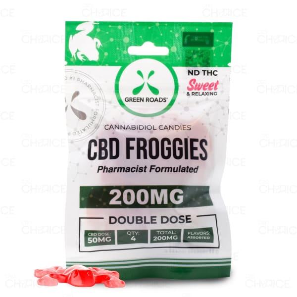 Green Roads CBD Froggies, 200mg